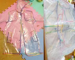 Yuding <b>Transparent</b> Raincoat Boys Rain Coat Hooded Outdoors ...