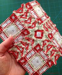 Work in Progress   English paper pieced quilt top CraftyPod