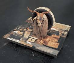 understanding contemporary art  critics and curators have tried to meaning in rauschenberg s odd juxtapositions of objects and images but he made clear that no meaning was intended
