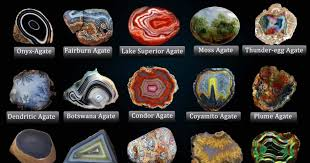 <b>Types of Agate</b> With Photos