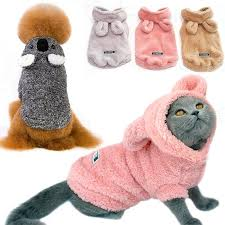 Warm <b>Cat</b> Clothes <b>Winter Pet Puppy</b> Coat Jacket for Small Medium ...