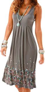 AELSON Womens <b>Summer Casual Sleeveless</b> Mini Printed Vest ...