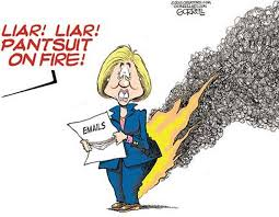 Image result for hillary liar liar pants on fire bernie