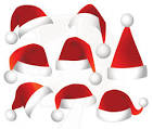 Image result for santa hat free clipart