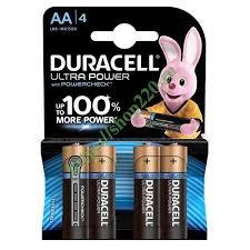 Купить <b>Батарейка</b> AA <b>Duracell LR6</b>-<b>4BL</b> Ultra Power <b>MN1500</b> ...