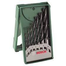 Набор <b>сверл по дереву BOSCH</b> 7 шт. 3, 4, 5, 6, 7, 8, 10 мм купить ...