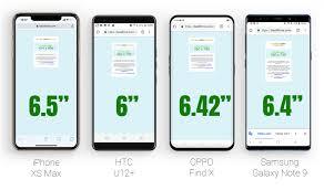 So sánh khả năng hiển thị màn hình iPhone XS Max, Samsung Note ...