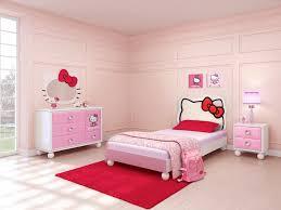 kitty decor bedroom kids room theme  bedroom hello kitty girl room theme with hello kitty headboard design