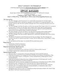 office manager job description required professional office manager job description required professional qualifications