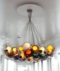 for the home cluster chandelier architects omer arbel office