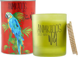 <b>Свеча ароматическая Ambientair Parrot</b> - цитрусовый Wild 40 ч