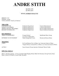 doc singer resume sample musician resume samples musician musician resume template smlf sample format sample acting resume