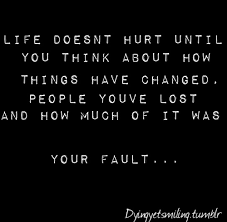 sad life quotes tumblr | World Best Fun world Funny Pictures ... via Relatably.com
