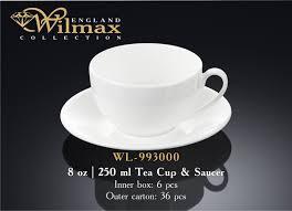 Посуда <b>WILMAX</b> Чашки с блюдцем | Шелкотрафаретная печать ...