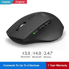 Rapoo MT550 <b>Wireless Mouse Smart</b> switch between 4 devices ...