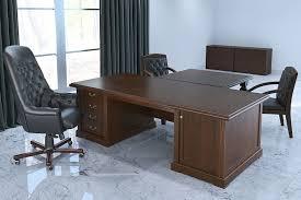 <b>Комплект мебели</b> для кабинета руководителя Amber №<b>4</b> Темный ...