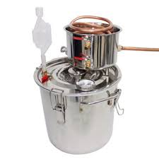 <b>12l</b> professional stainless boiler alcohol <b>moonshine</b> water copper w ...