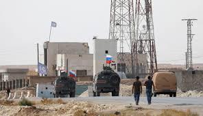 Manbij: Video appears to show Russian <b>soldiers</b> in abandoned <b>U.S.</b> ...