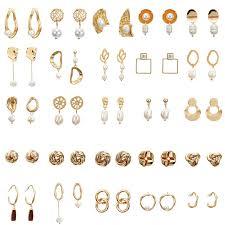 F35 <b>Vintage Irregular</b> Freshwater <b>Pearl</b> Dangle Earrings For Women ...