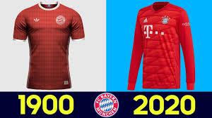 Эволюция Формы Футбольного Клуба <b>Бавария Мюнхен</b> | Все ...