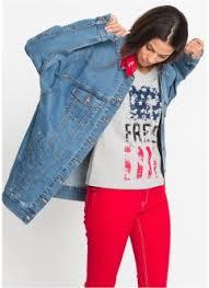 Модные <b>джинсовые куртки</b> от Интернет-магазина bonprix онлайн!