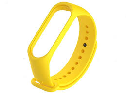 <b>Aксессуар Силиконовый ремешок</b> для <b>Mi</b> Band 3 Yellow - ElfaBrest