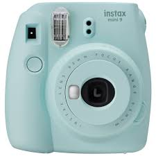 Buy <b>instax Mini</b> 9 Camera with 10 shots - Ice <b>Blue</b> | Instant cameras ...