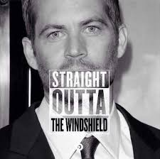 STRAIGHT OUTTA THE WINDSHIELD | Straight Outta Somewhere ... via Relatably.com