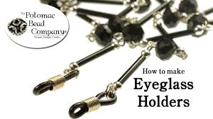 How to Make <b>Eyeglass</b> Holders - YouTube