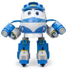 Трансформер <b>Silverlit Robot Trains</b> Deluxe Set Кей — купить по ...