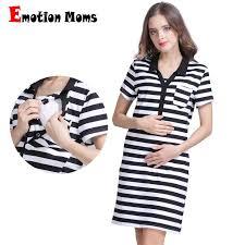 emotion moms cotton short sleeve maternity clothes summer tops breastfeeding t shirt for pregnant women nursing tops