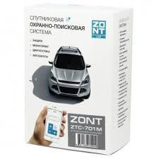 <b>Автомобильная GSM-сигнализация ZONT</b> ZTC-701M - купить по ...