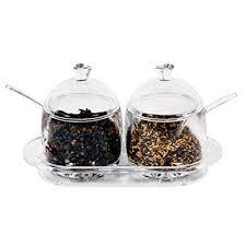 Buy AZOD Creative <b>Acrylic Spice</b> Jar Kitchen Storage Bottle Salt Jar ...