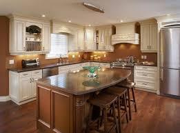 modern kitchen setup:  modern kitchen layout marvellous design kitchen setup ideas brown wooden kitchen island brown marble