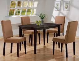 dining table parson chairs interior