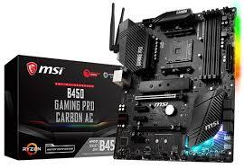Подробности о 12 матплатах <b>MSI</b> на чипсете B450