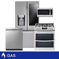 <b>Black Stainless</b> Steel Kitchen Appliance Packages | Costco