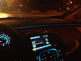 subtle blue interior accent lighting in 2013 buick lacrosse accent ambient lighting
