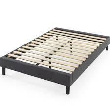 Full - Gray - <b>Beds</b> - <b>Bedroom</b> Furniture - The Home Depot