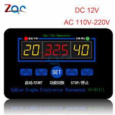 <b>10A Thermostat Digital Temperature Controller</b> DC 6V 30V <b>Thermal</b> ...