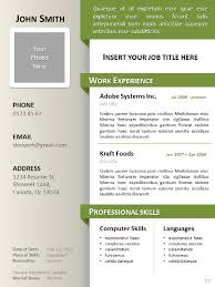 clean resume cv template for powerpointsimple clean curriculum vitae template powerpoint