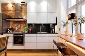 fantastic brick wall kitchen hdi tjihome tiles