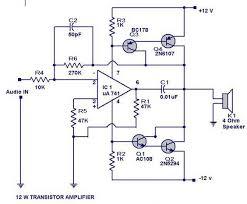 circuit diagram on pinterest  watts transistor amplifier circuit diagram