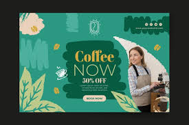 Free Vector | <b>It's time for coffee</b> banner template