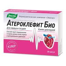 <b>Атероклефит Био капс</b> №<b>30</b> - цена 367.00 руб., купить в ...
