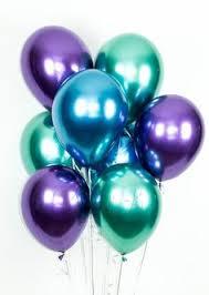 "New <b>Glossy Metal Pearl</b> Latex Balloons 10"" Thick Chrome <b>Metallic</b> ..."