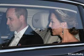The Duchess in Alexander McQueen and Glittering Jewels for State ...