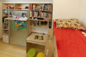 this room was exceptionally small and casa kids created a design that provides sleeping space as casa kids nursery furniture