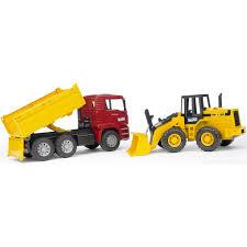 <b>Самосвал MAN</b> с колёсным бульдозером FR 130 <b>Bruder</b> — купить ...