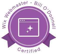 news updates many hours video tutorials and exams later com s bill o donnell has been certified as a wix webmaster bill states the education this program